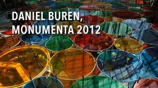Daniel Buren, Monumenta 2012