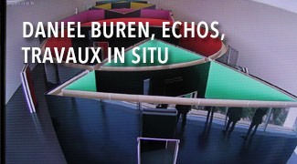 Daniel Buren, Echos, Travaux in situ, Centre Pompidou-Metz