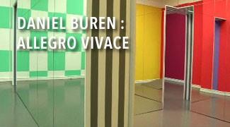 Daniel Buren : Allegro Vivace