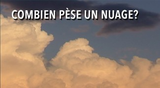 Combien pèse un nuage?